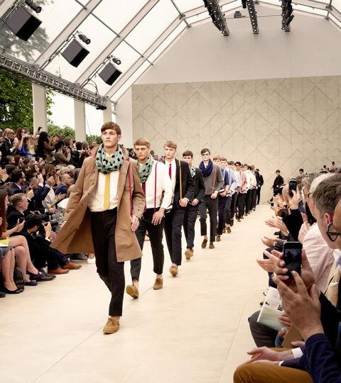 Showarchitekten für Burberry Prorsum / fashion week, london, modenschau, organisation, burberry, kunden,