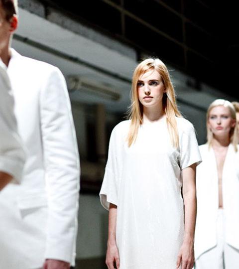 Showarchitekten für Calvin Klein / fashionshow, kreativagentur, modenschau, organisation, planung, calvin klein, kunden,